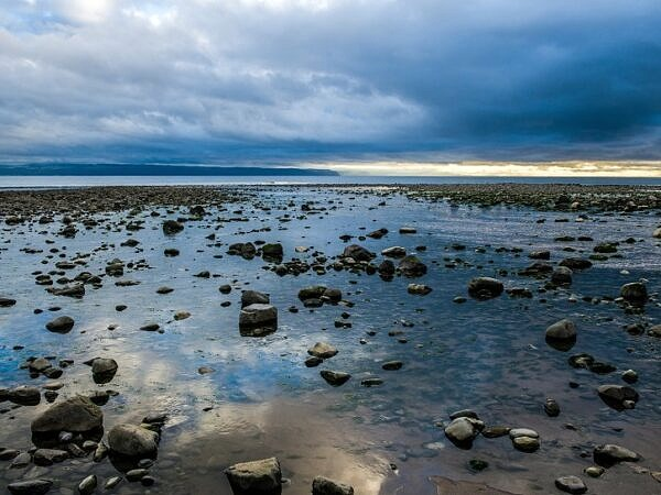 Beach at Llantwit Major South Wales