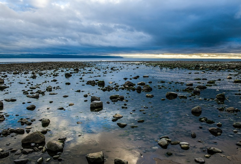 Beach at Llantwit Major South Wales