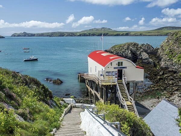 St Justinian's and Lifeboat Station Pembrokeshire Coast