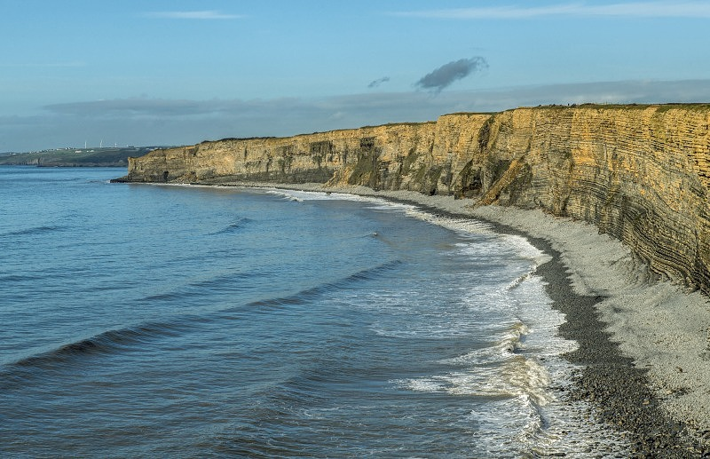 Nash Point Beach Glamorgan Heritage Coast Cliffs