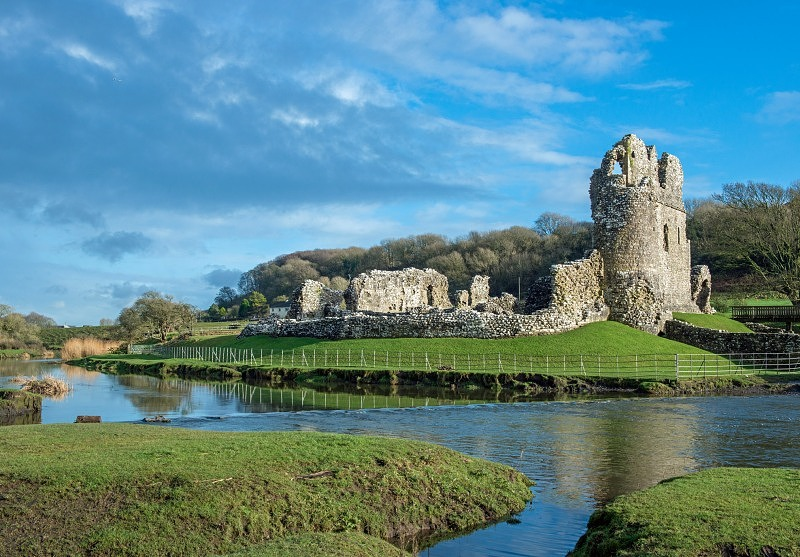 Ogmore Castle Ogmore by Sea South Wales