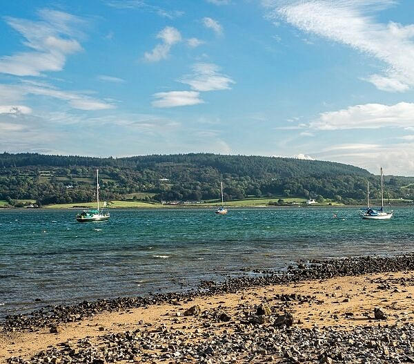Red Wharf Bay Traeth Coch on the Anglesey Coast