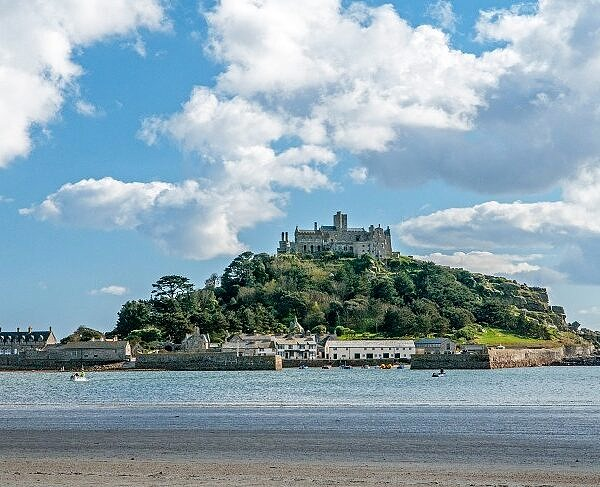 St Michaels Mount south Cornwall Coast