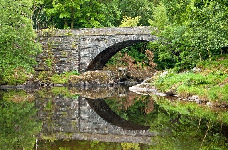Stone Bridge on A470 River Conwy