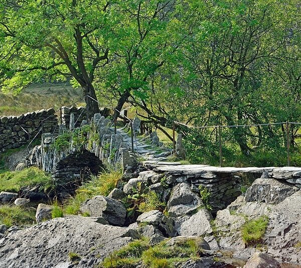 Slaters Bridge Little Langdale Lake District