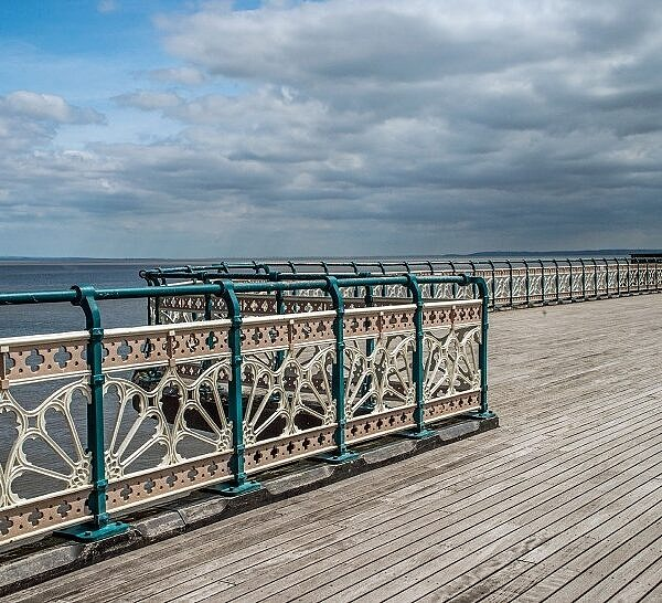 Penarth Pier Railings Vale of Glamorgan